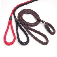 Rosewood Rope Twist Dog Slip Lead 64""